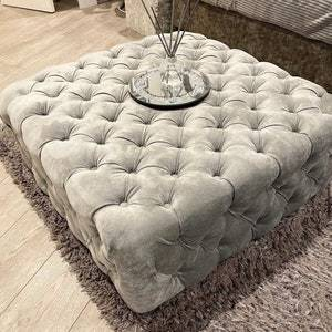 Big Size Chesterfield Footstools Trending Product Colours: White